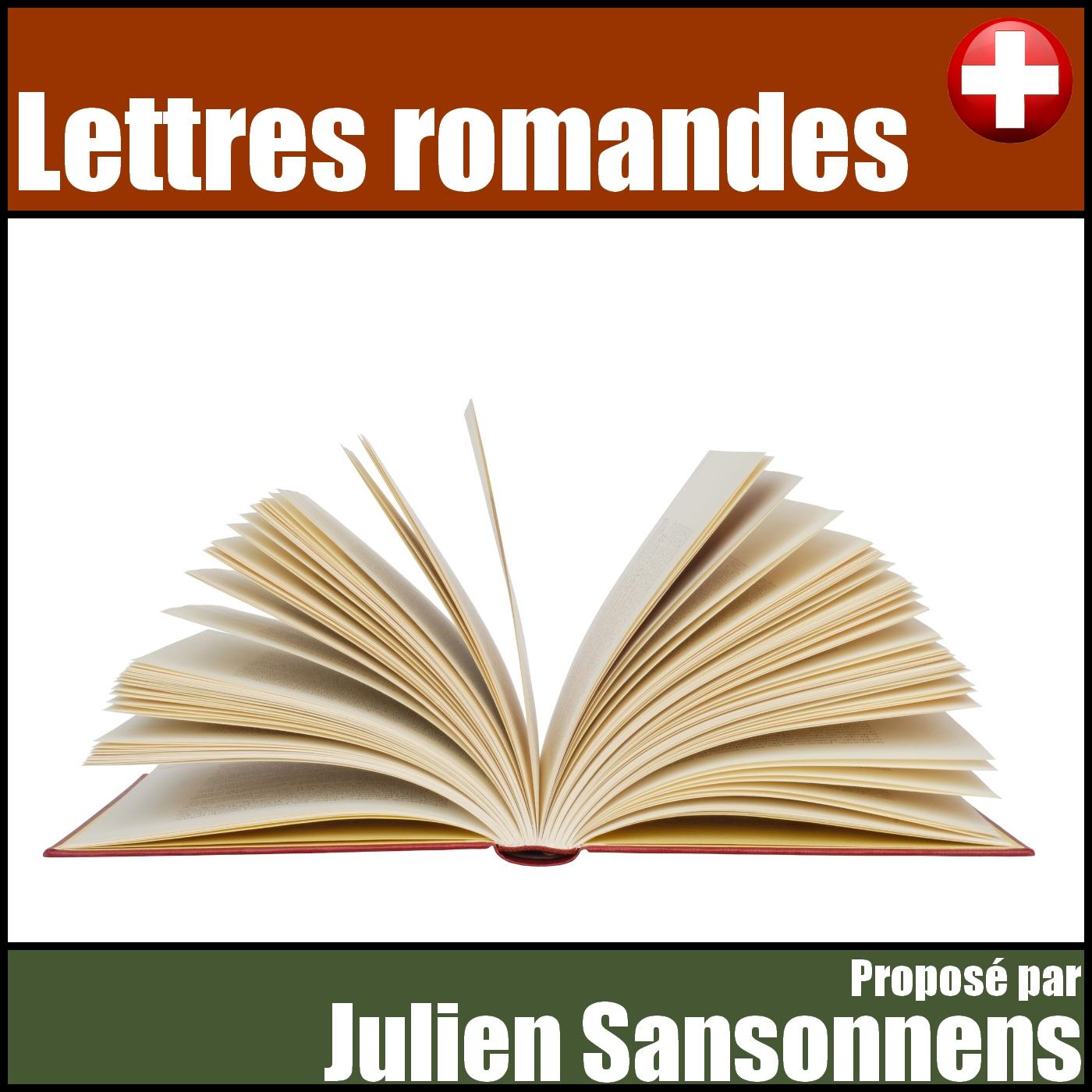 Lettres romandes, par Julien Sansonnens